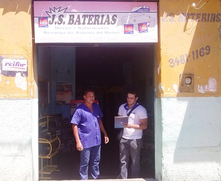 JS Baterias  - BJLapaTEXTO
