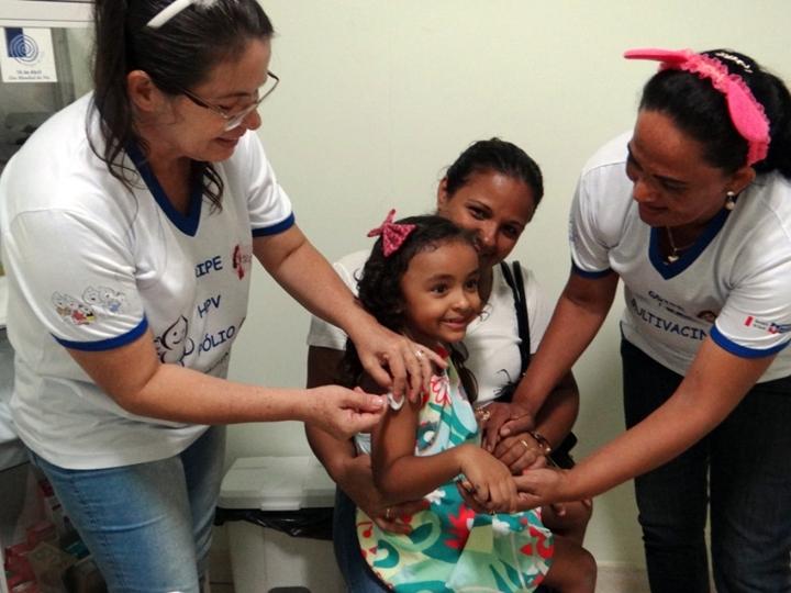 A meta de vacinação é de 11.787 pessoas que se encontram no público-alvo preconizado pelo Ministério da Saúde