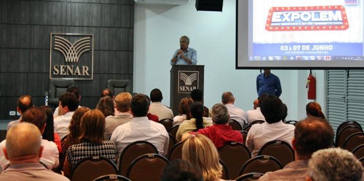 Para prefeito só é possível tornar um evento deste porte um sucesso com apoio do empresário e cada expositortexto