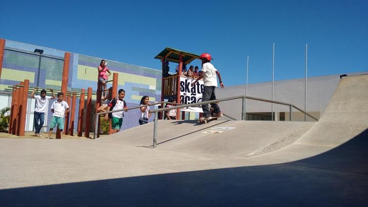Para comemorar o primeiro ano do projeto, um campeonato movimentou os alunos de skate do CEUs neste domingotexto