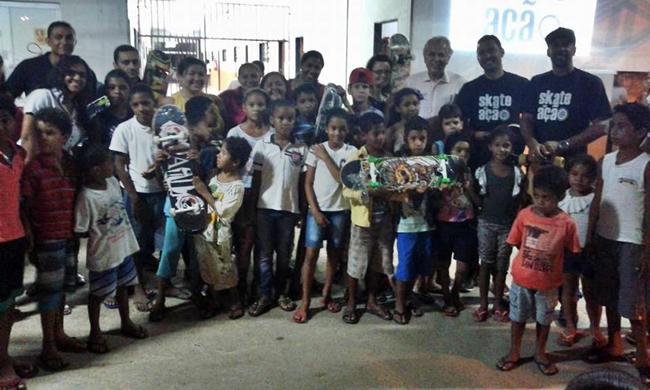Novo núcleo do Skate em Ação no Jardim das Oliveiras atenderá 150 criançastexto