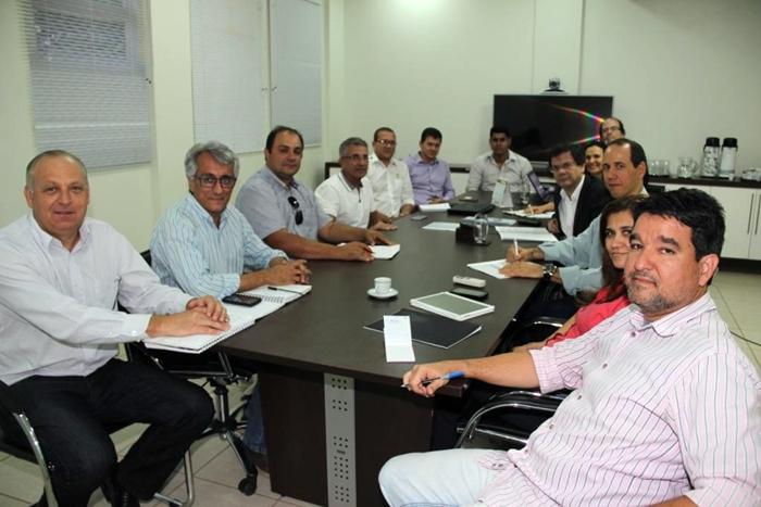 Reunião Parque Tecnologico Oeste - Ascom Aibaesse
